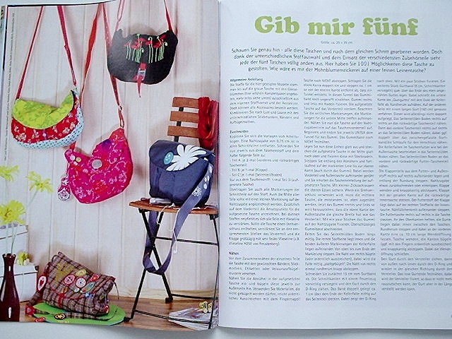 farbenmix.de, Taschenschnittmuster Spezial 2009