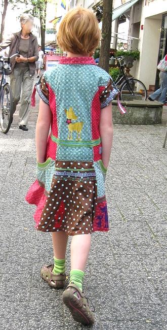 Schnittmuster Kleid, Webband, farbenmix.de