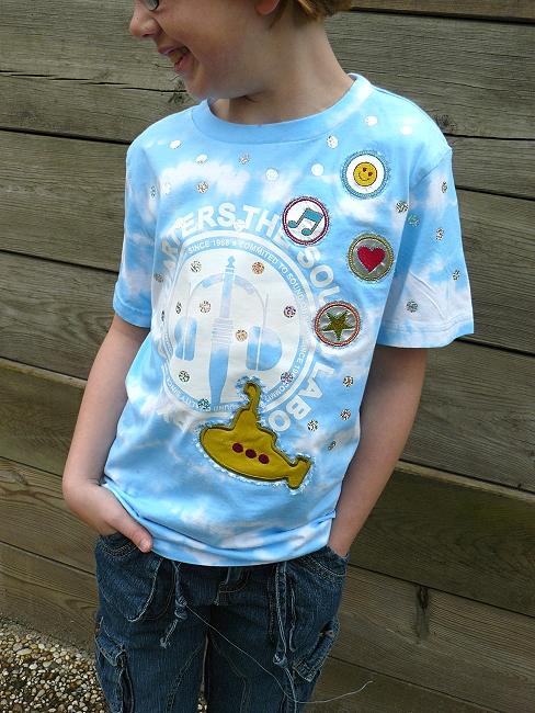 T-Shirt pimpen, aufmotzen, farbenmix.de