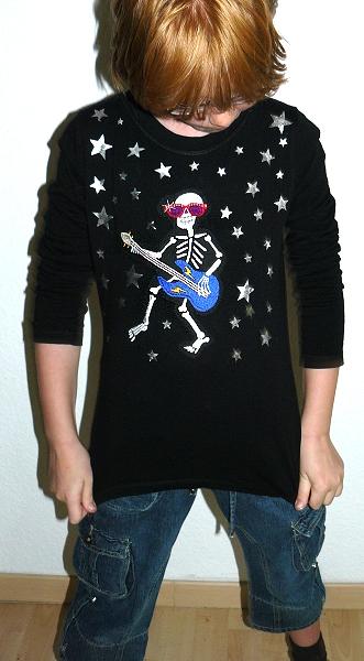 Shirt nähen, verzieren mit Kindern, farbenmix.de