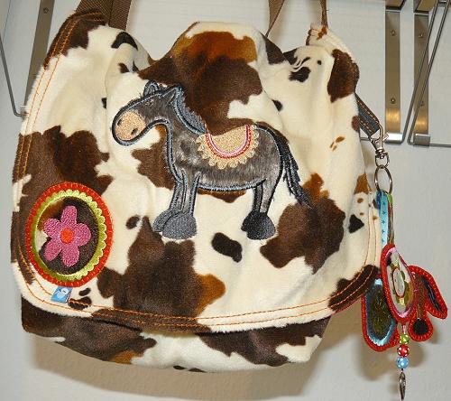 Pferd Tasche nähen