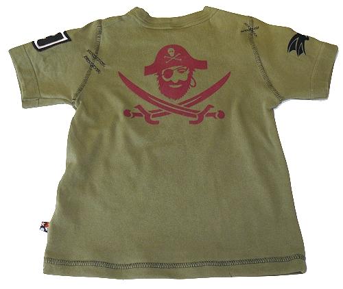Rückseite Piratenshirt