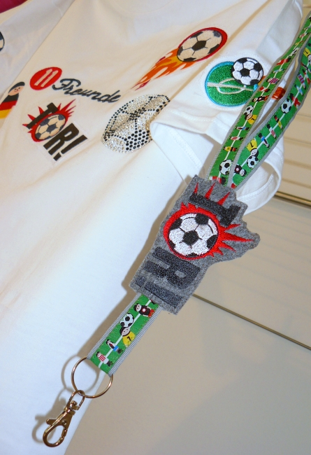 Fußball Schlüsselband
