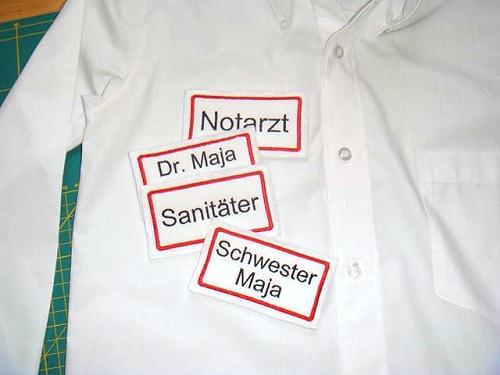Arztkittel aus Herrenhemd