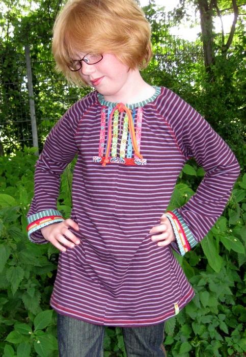 Hippie-Shirt selber nähen
