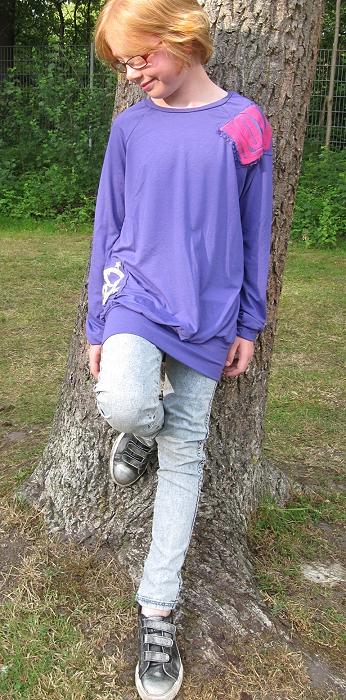 Longshirt nähen
