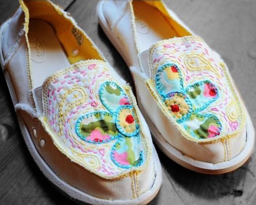 Schuhe verzieren