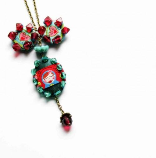 Halskette aus Webband