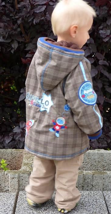 Jacke für Jungen nähen