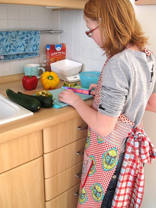 Kinder kochen gesund selber