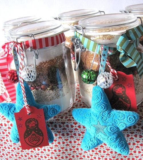 Kekse im Glas verschenken, Kochen mit Kindern