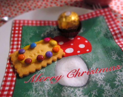 Kekse mit Namen, Tischkarten, Weihnachten