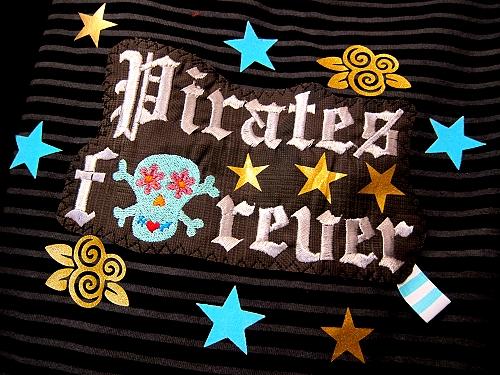 Piraten Forever Shirt, Schnittmuster farbenmix