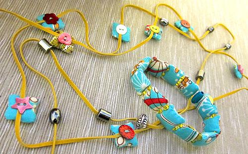 Schmuck mit der Stickmaschine, Stempelkissen, farbenmix