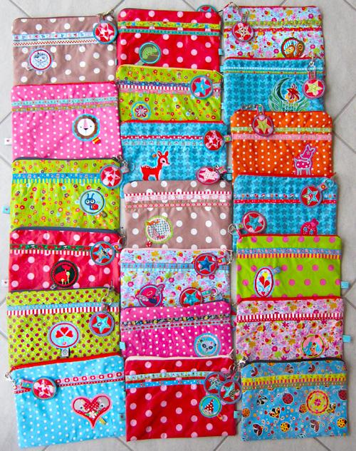 Taschen für Nähwerkzeuge, Kamerun, farbenmix