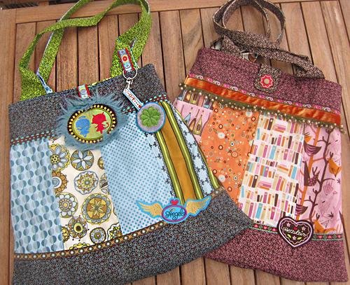 Nähanleitung Tasche, Schnittmuster, farbenmix
