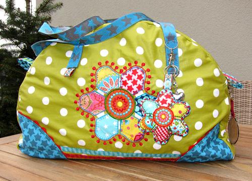 Weekender XL, Taschen-Schnittmuster farbenmix