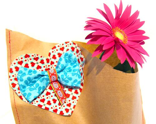 Papier Tüte nähen, Geschenkverpackung, farbenmix