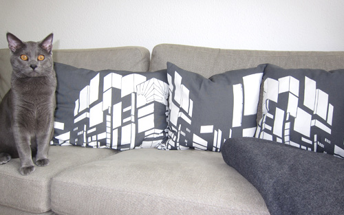 Kissen nähen, IKEA Stoff, farbenmix.de