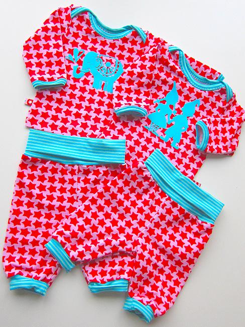 Baby Schnittmuster, Zwergenverpackung 1, farbenmix
