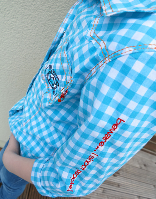 Schnittmuster Hemd, Hemdbluse JOEY, farbenmix.de